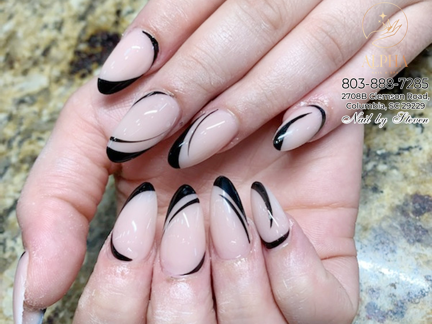 Some modern nail design for people in Columbia, SC 29229